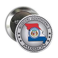 "Missouri Independence LDS Mission State Flag 2.25"""