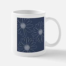 Blue and White Daisies Mug