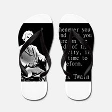 Whenever You Find - Twain Flip Flops