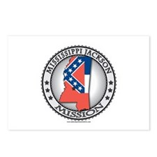 Mississippi Jackson LDS Mission State Flag Cutout
