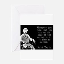 Whenever You Find - Twain Greeting Cards