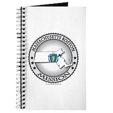Massachusetts Boston LDS Mission State Flag Journa