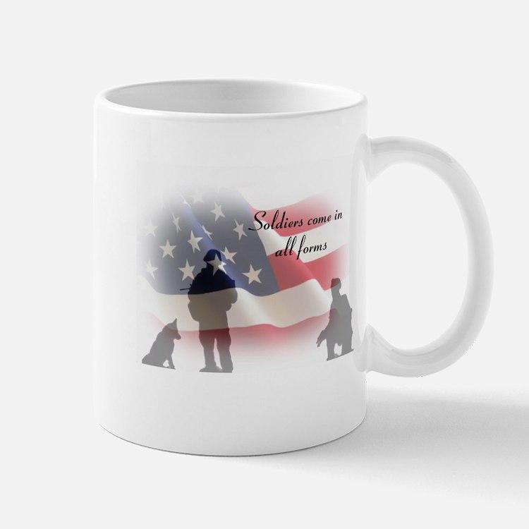 K-9 soldiers Mug
