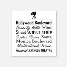Hollywood Streets Sticker