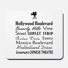 Hollywood Streets Mousepad