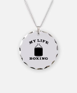 My Life Boxing Necklace