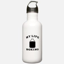 My Life Boxing Sports Water Bottle