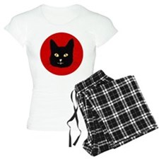 Black Cat Face Pajamas
