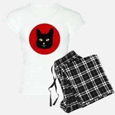 Black Cat Face Pajamas