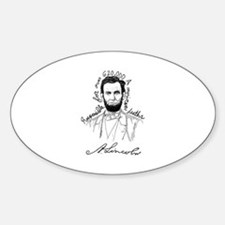 The Real Abarham Lincoln Decal