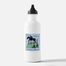 Fun Hunter/Jumper Equestrian Horse Water Bottle