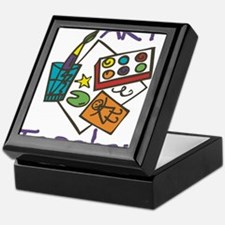 Art Teacher Keepsake Box