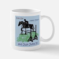 Fun Hunter/Jumper Equestrian Horse Mug
