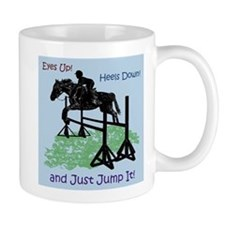 Fun Hunter/Jumper Equestrian Horse Mug
