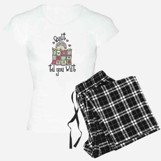 Quilt 'Til You Wilt Pajamas