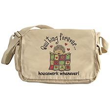 Quilting Forever Messenger Bag