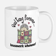 Quilting Forever Small Mugs