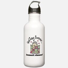 Quilting Forever Water Bottle