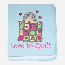 Love to Quilt baby blanket