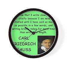 12 Wall Clock
