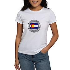 Colorado Denver South LDS Mission State Flag T-Shi
