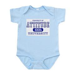 Attitude University Infant Bodysuit