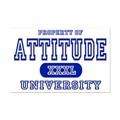 Attitude University Posters