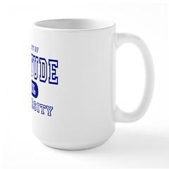 Attitude University Large Mug