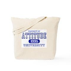 Attitude University Tote Bag