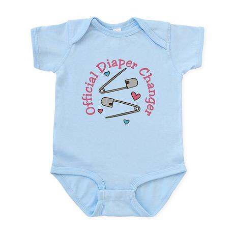 Official Diaper Changer Body Suit