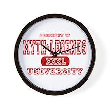 Myth & Legends University Wall Clock