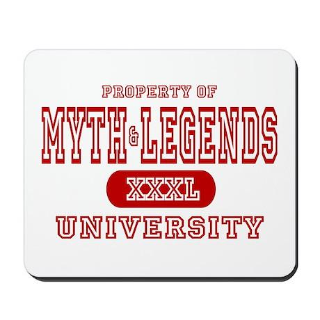 Myth & Legends University Mousepad