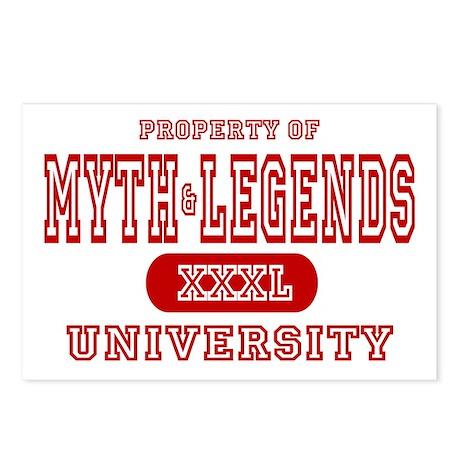 Myth & Legends University Postcards (Package of 8)