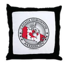 Canada Edmonton LDS Mission Flag Cutout Throw Pill