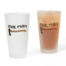 Axe Man Drinking Glass