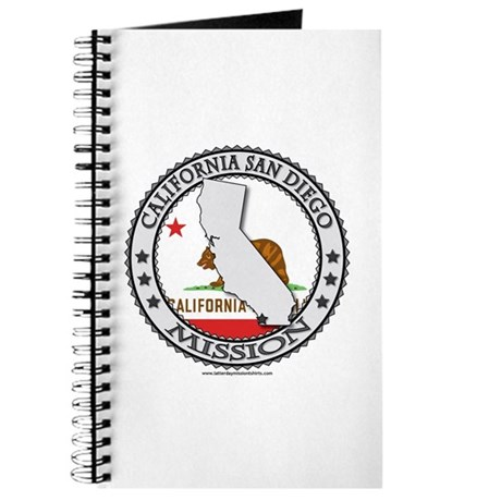 California San Diego LDS Mission State Flag Journa