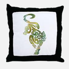 Tribal Panther 6 Throw Pillow