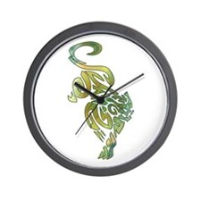 Tribal Panther 6 Wall Clock