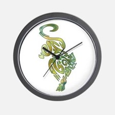 Tribal Panther 6 Wall Clock