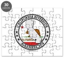 California Riverside LDS Mission State Flag Cutout