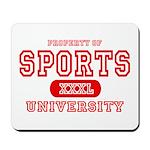 Sports University Mousepad