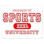Sports University Small Poster