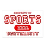 Sports University Postcards (Package of 8)