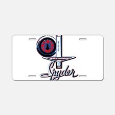 spyder 2 Aluminum License Plate