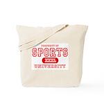 Sports University Tote Bag