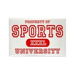 Sports University Rectangle Magnet