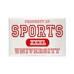 Sports University Rectangle Magnet (10 pack)
