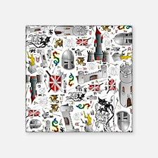 Medieval Mash-up Sticker
