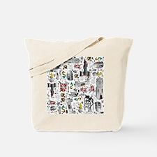 Medieval Mash-up Tote Bag
