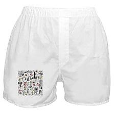 Medieval Mash-up Boxer Shorts